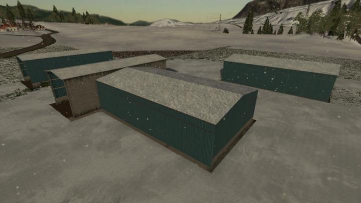 FS19 - Bunker Silo Covered Pack V1