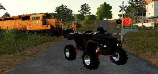 Photo of FS19 – Canam Outlander 1000 Xp Xmr Lifted V1