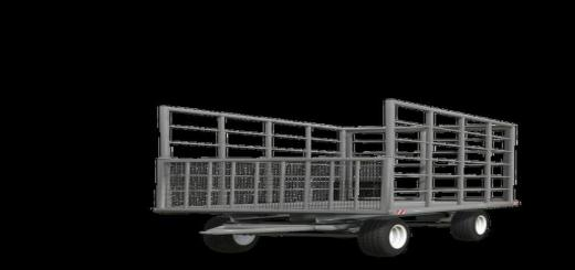 Photo of FS19 – Classic Bale Trailer V4