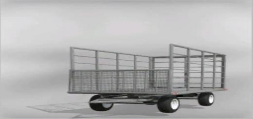 Photo of FS19 – Classic Bale Trailer V5