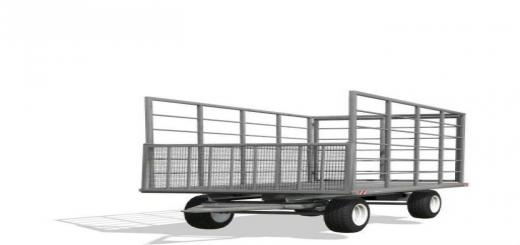 Photo of FS19 – Classic Bale Trailer V6