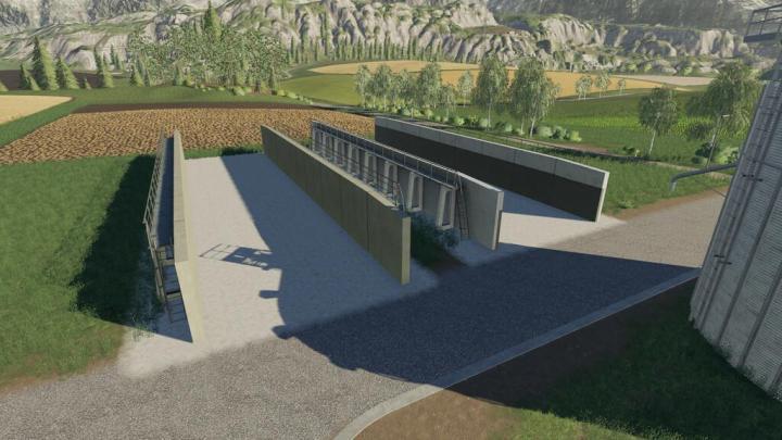 FS19 - Concrete Bunker Set U V1.0.0.1
