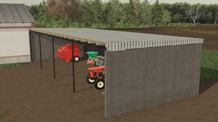 FS19 - Concrete Shed V1