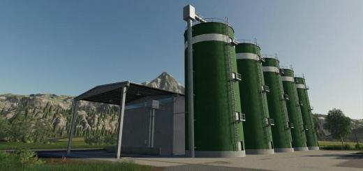 Photo of FS19 – Concrete Silos V1.1