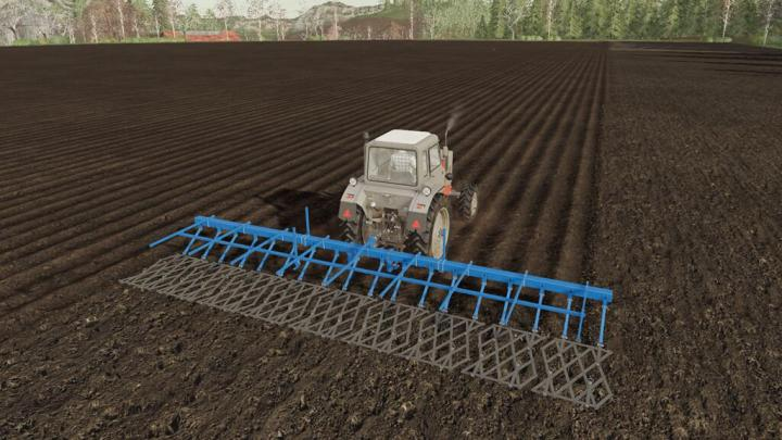 FS19 - Coupling Of Toothed Harrows V1