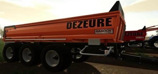Photo of FS19 – Dezeure Tpx 36S Trailer V1.1