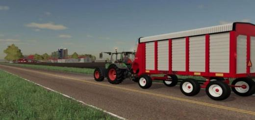 Photo of FS19 – Dion 1060 Steel Forage Wagon V1
