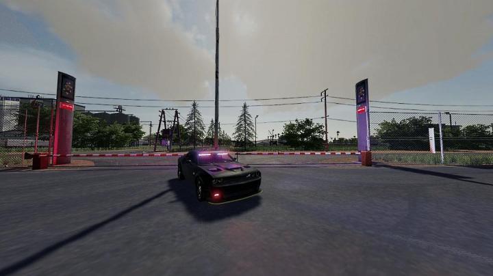 FS19 - Dodge Challenger Hellcat / Demon Pursuit Unmarked V1