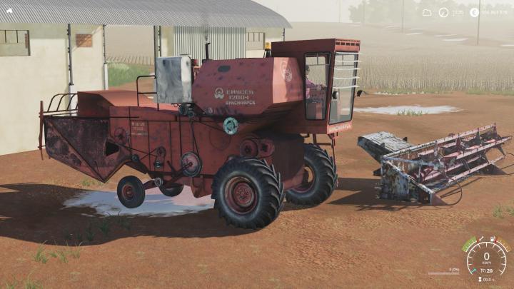 FS19 - Enisey 1200-1 Harvester V1