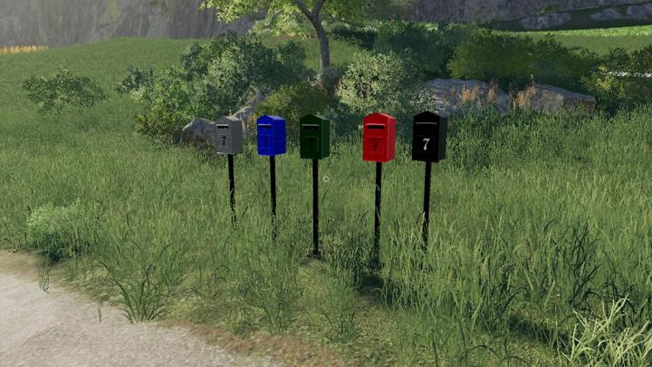 FS19 - European Style Letterbox With Optional Sleep Trigger V1