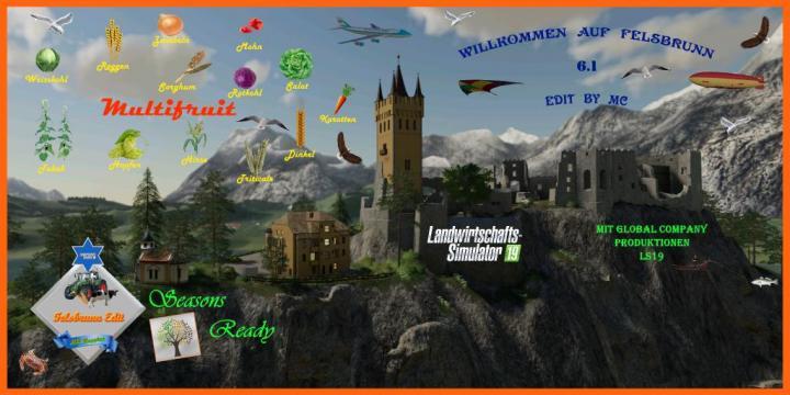 FS19 - Felsbrunn Edit By Mc Multifruit V6.1