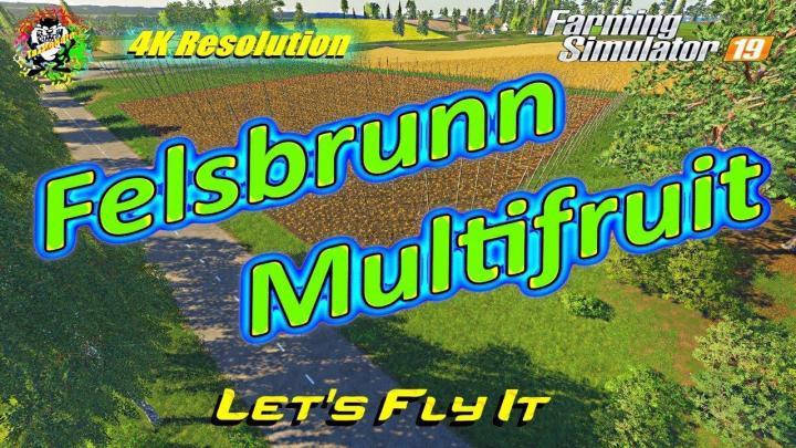 FS19 - Felsbrunn Map V6.1