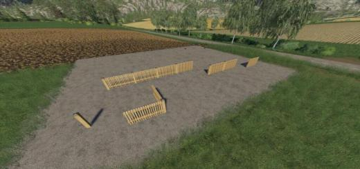 Photo of FS19 – Fence Pack V1.0.0.1