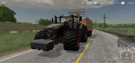 Photo of FS19 – Fendt 1050 With Gearshift Sound V1