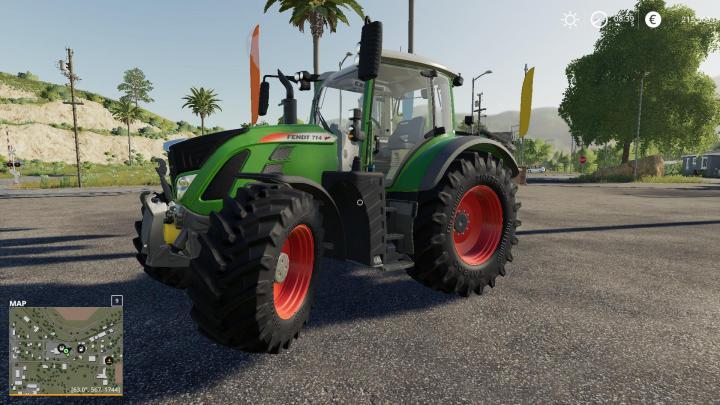 FS19 - Fendt Vario 700 S5 Tractor V1
