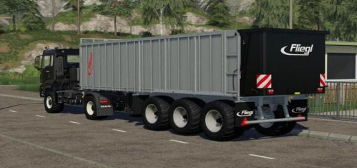 Photo of FS19 – Fliegl Ass 398 Trailer V1