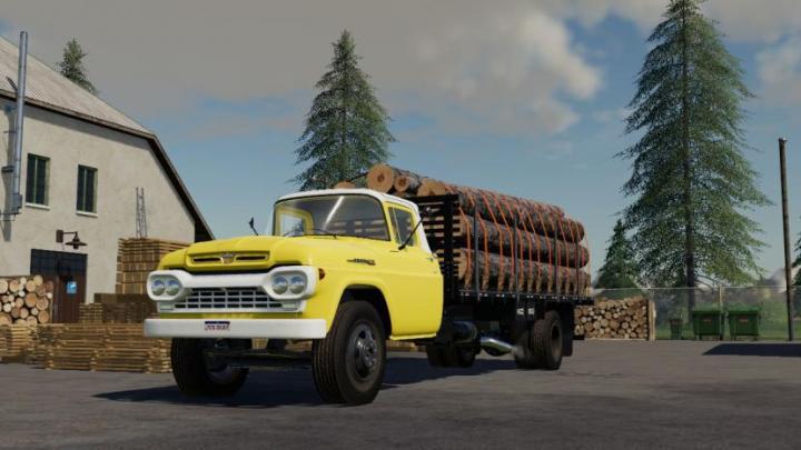 FS19 - Ford F600 V1