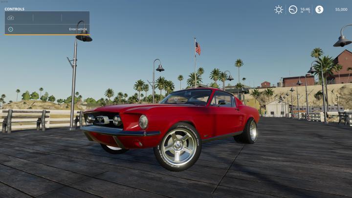 FS19 - Ford Mustang 1965 V1