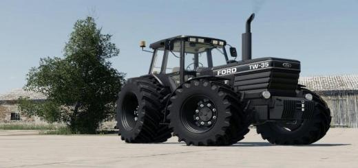 Photo of FS19 – Ford Tw 35 Black Edition V1