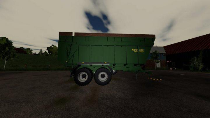 FS19 - Fortuna Ftm200 Trailer V1