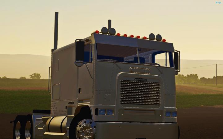 FS19 - Freightliner Flb Cabover Truck V1