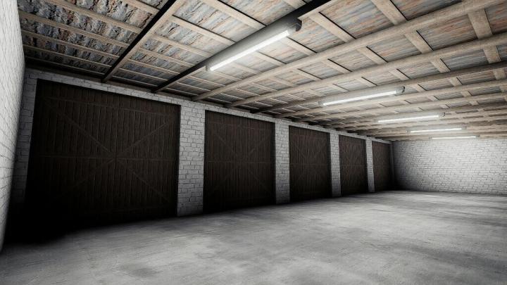 FS19 - Garage For Machines V1.0.0.1