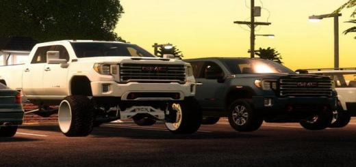 Photo of FS19 – Gmc Sierra Custom V3