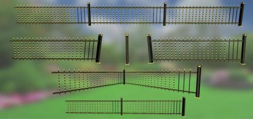 Photo of FS19 – Golden Fences Pack V1