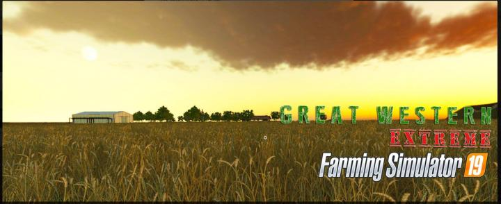 FS19 - Great Western Extreme Map V1