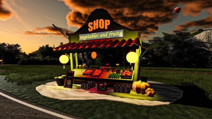FS19 - Grocery Shop V1