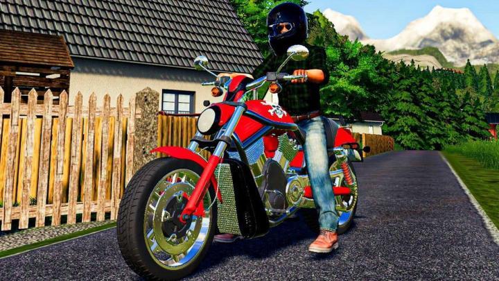 FS19 - Harley Davidson 1100Cc V1