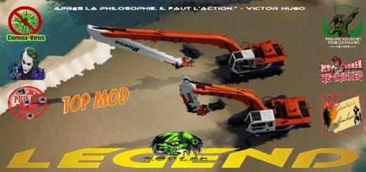 Photo of FS19 – Hitachi Excavator Pack V2
