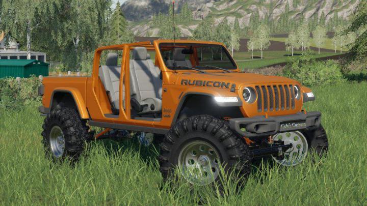 FS19 - Jeep Gladiator 2020 V1