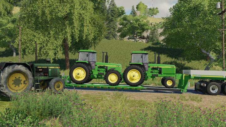 FS19 - John Deere 4755-4955 Tractor V1.1