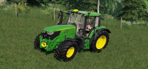 Photo of FS19 – John Deere 6M 2020 Tractor V1