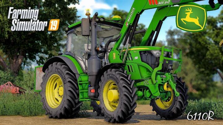 FS19 - John Deere 6R (6105-6130) Serie V1