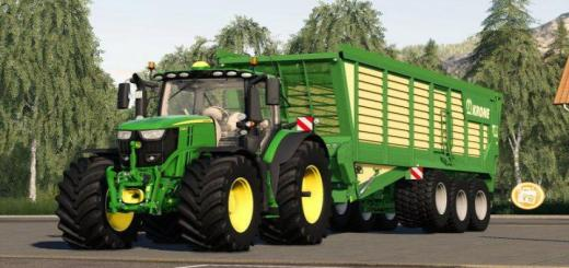 Photo of FS19 – John Deere 6R Series V1