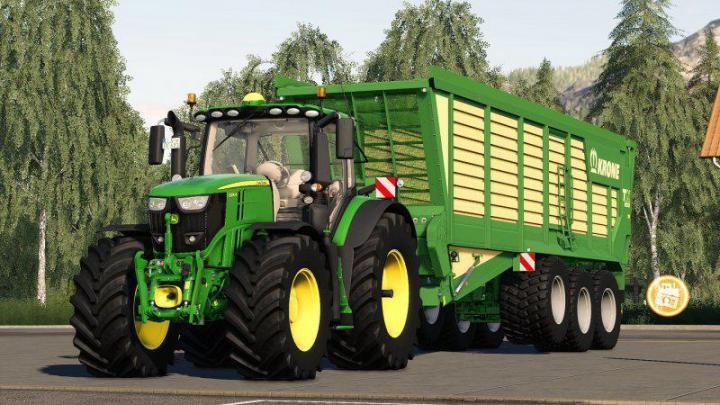FS19 - John Deere 6R Series V1