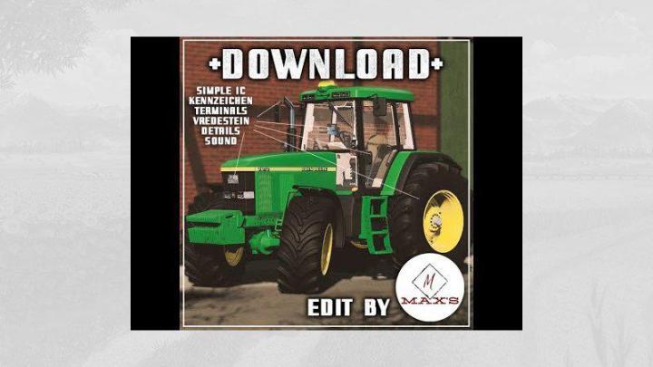 FS19 - John Deere 7810 - Sic V2