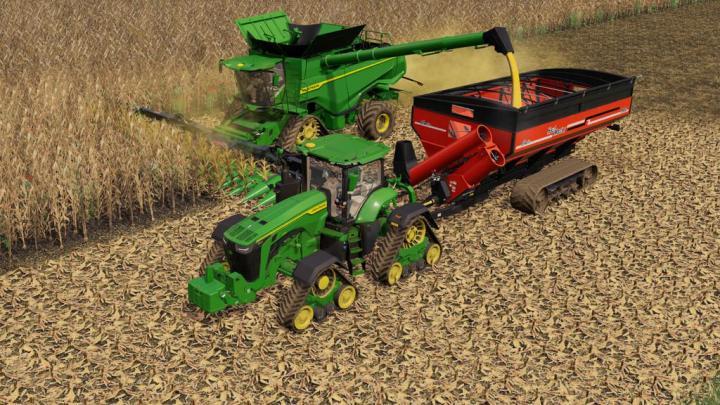 FS19 - John Deere 7R,8R,8Rt,8Rx 2020 Us-Version V1.1