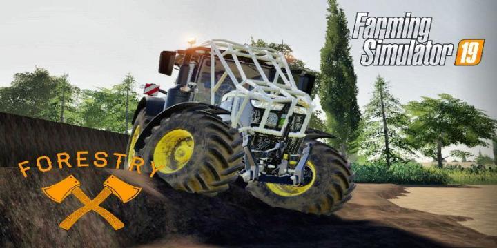 FS19 - John Deere Forestry Serie V2