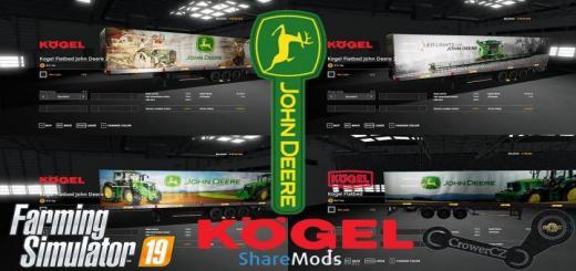 Photo of FS19 – John Deere Kogel Pack Trailers V1