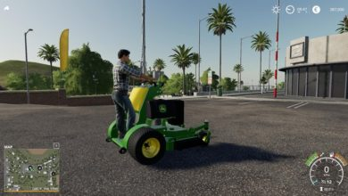 Photo of FS19 – John Deere Stand On Mower V1