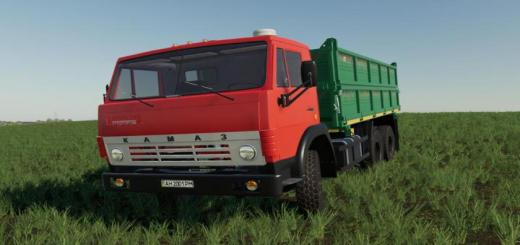 Photo of FS19 – Kamaz 55102 V1