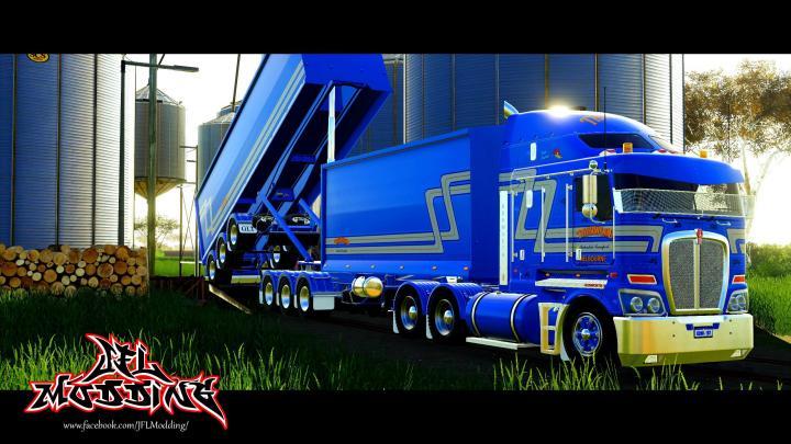 FS19 - Kenwoth K200 Truck V1