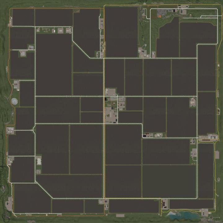 FS19 - Kernstadt Fur Den Map V1