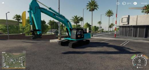 Photo of FS19 – Kobelco Sk210 V1