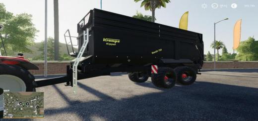 Photo of FS19 – Krampe Bandit 750 Trailer V1