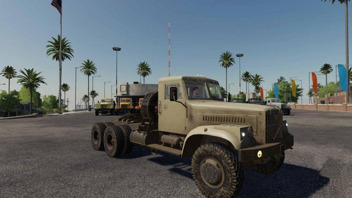 FS19 - Kraz 258 Truck V2