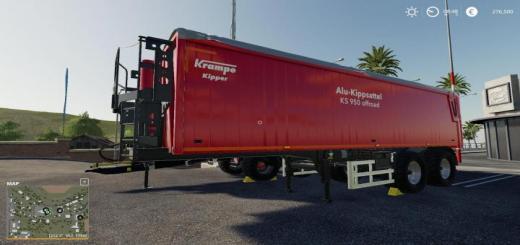 Photo of FS19 – Ks 950 Anhanger Von Krampe V1